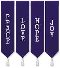 advent wreath banners